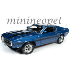 Autoworld Amm1188 1969 Ford Mustang Shelby Gt-350 Pilot Car 1/18 Acapulco Blue