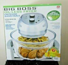 Big Boss Oil-less Air Fryer, 16 Quart, 1300W, Easy Operation Gray Low Energy