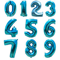32'' Number 0-9 Giant Foil Balloon Digit Helium Balloons Birthday Party Decor