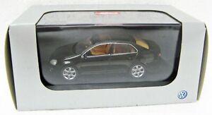 2005 Volkswagen Jetta black Dealer Promo 1/43 Schuco 1KM099300F9R MB