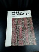 Vintage Arts and Decoration Magazine March 1935 Edition
