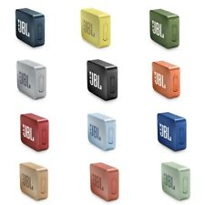 JBL Go 2 Portable Wireless Waterproof Bluetooth Speaker, Multi Colors New