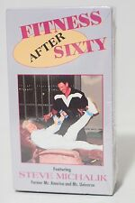 Fitness after Sixty (Video, VHS Format) NEW & SEALED