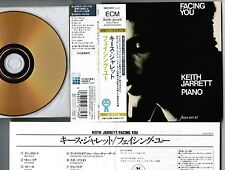 KEITH JARRETT Facing You JAPAN Mini-LP CD 24k GOLD w/OBI UCCE-9012 Free S&H/P&P