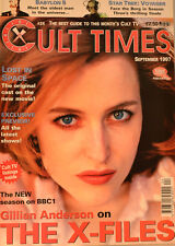 CULT TIMES EDITION 24 - LOST IN SPACE - GILLIAN ANDERSON ON X Files - CT9