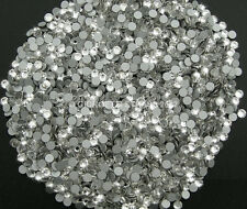 STRASS MC Stone collection 500pz SS10 3mm Cristallo bianco trasparente hotfix