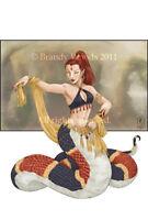 Fairy Pixie Mushroom Fantasy pin up pinup art faery sprite elf Brandy Woods