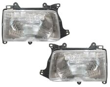 93 94 95 96 97 98 Toyota T100 Left&Right Headlight Headlamp Light Lamp Pair L+R