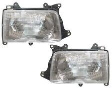 93 94 95 96 97 98 Toyota T100 Left&Right Headlight Headlamp Light Lamp Pair L+R