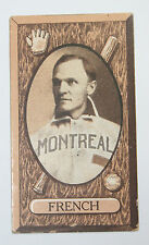 1912 Imperial Tobacco C46 Baseball Card No. 25 Charlie French Montreal Club