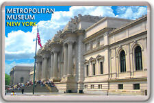 METROPOLITAN MUSEUM NEW YORK FRIDGE MAGNET SOUVENIR IMAN NEVERA
