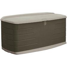 Rubbermaid Outdoor Deck Storage Box Pool Supply Toy Backyard Yard Waste New
