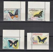 TIMBRE STAMP 4 PHILIPPINES Y&T#743-46 PAPILLON  NEUF**/MNH-MINT 1969 ~B51