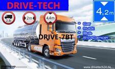 """7"""" LKW PKW WOMO GPS Navigationsgerät Navi  Mit Drahtlose Rückfahrkame. Bluetooth"""