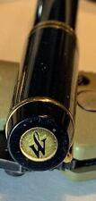 Waterman Fountain Pen  Le Man 100 Black Nib: Gold 18K 750 IDEAL Paris France