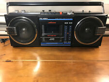 Vintage JVC RC-650 Boom Box Ghetto Blaster Cassette Player Recorder AM/FM Radio