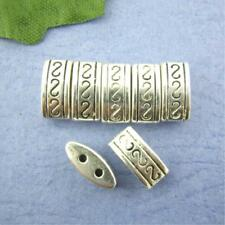 Two-holes Beads Charms Spacers Brilliant Accessory For Jewelry Bangles Diy 50pcs
