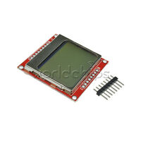 84*48 LCD Module White Backlight Adapter PCB for Nokia 5110