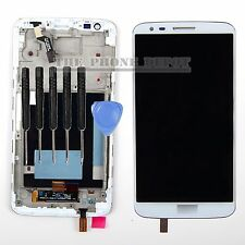 For LG Optimus G2 D802 LCD Display Digitizer & Touch Screen & Frame in White UK