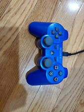Genuine Sony PS3 DualShock 3 Sixaxis Blue Controller Authentic CECHZC2U Official