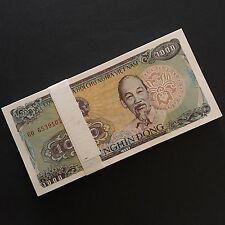 1988 VIETNAM 1,000 1000 DONG P-106a UNC LOT 50 PCS ½ BUNDLE