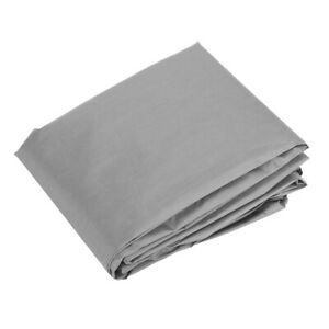 Gray Waterproof Table Cover Dustproof Patio Seat Covers Boat Protection Cover
