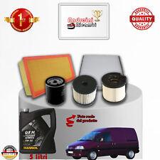 Kit de Mantenimiento Filtros + Aceite Peugeot Expert 2.0 HDI 69KW 94CV 2006 -