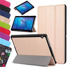 """Para Huawei MediaPad T3 7.0"""" 8"""" 10"""" Cuero Inteligente Delgada Soporte Funda Cubierta Tablet UK"""