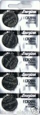 5 New ENERGIZER CR2016  CR 2016 Lithium 3v Coin Battery AUSSIE Stock FAST POST