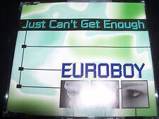 Euroboy Just Can't Get Enough Australian Remixes CD Single – Like New
