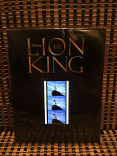 The Lion King: Limited Edition 35-millimeter Film Strip (Contains 3 Cells)Disney