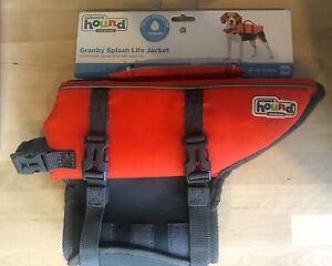 """Outward Hound Dog Life Jacket Size Small SM  15-30 lbs  16-20"""" New!"""