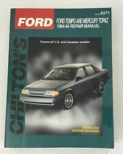 Chilton Repair Manual 1984-94 Ford Tempo/Mercury Topaz 1985 1986 1987 1988 1989