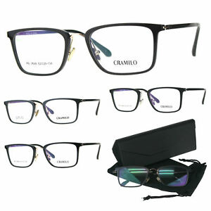 Optical Quality Rectangular Minimal Designer Eyeglasses Frame