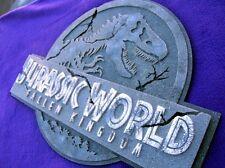 Kingdom 3D ART sign new display Raptor Dinosaur  Jurassic T Rex World nubar
