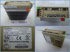 Yaskawa XD-04-MN01 V3.01 XtraDrive Out: 0-230V 3 Phase 0,4(0,54)kW (hp) 2,8 AMPS