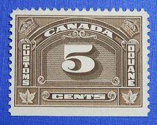 1935 5c CANADA CUSTOMS DUTY REVENUE VD # FCD8 B # 8 UNUSED               CS30133