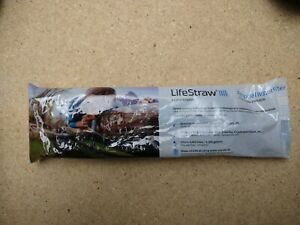 LifeStraw Personal Water Filter for Hiking, Camping and Emergency Preparedness