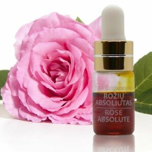 100% PURE ROSE ESSENTIAL OIL (ABSOLUTE) 2ml/0.07oz | Rosa damascena