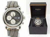 Orologio Breil z973 classic watch elegant clock men's montre rare reloj chrono