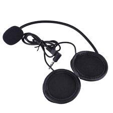 Earphone Bluetooth Intercom Durable Interphone Headset Motorcycle Helmet For V4