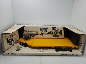 Vintage ERTL Machine Trailer 1/16 YELLOW 1990