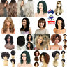 Women Long Wavy Curly Hair Synthetic Cosplay Costumes Full Wig Wig Party AUSTOCK