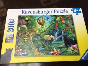 Ravensburger 200pc XXL - The Animal Jungle