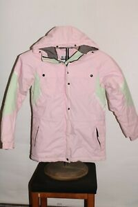 COLUMBIA GIRLS 10/12 insulated hooded Snowboard/snow Jacket