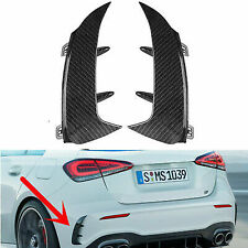 FLAPS CARBON LOOK PARAURTI POSTERIORE LOOK AMG MERCEDES CLASSE A W177