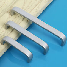 Aluminium Möbelgriff Relinggriffe Stangengriff Küchengriffe Türgriff - Silber