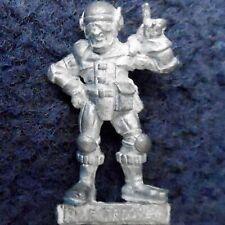 1987 PARA1 Paranoia Security Guard Blue Trooper Officer Vulture Games Workshop