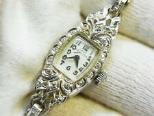 Hamilton Vintage Lady Hamilton Diamond 14k White Gold watch