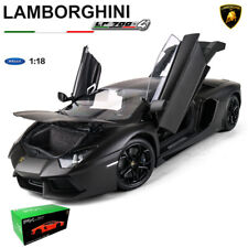 1:18 LAMBORGHINI AVENTADOR LP700-4 MATTE BLACK FX Model DIECAST CAR MODEL WELLY